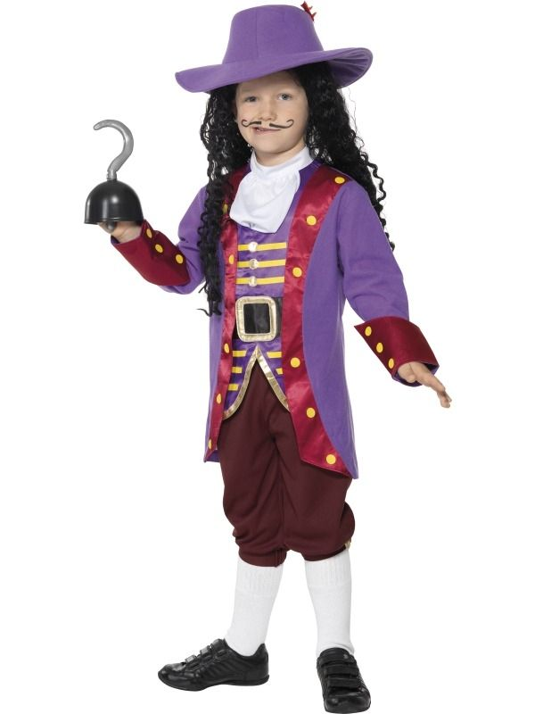 Childs Captain Hook Fancy Dress Costume - http://www ...