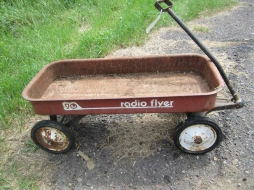 Radio Flyer 90 Wagon With Images