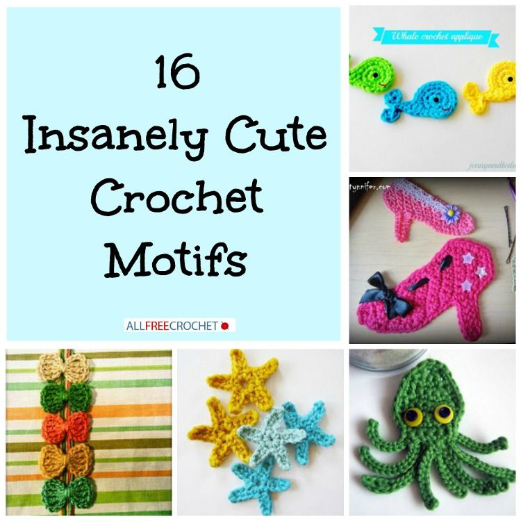 Basic crochet patterns are nice, but sometimes it's fun to give your crochet patterns just a little something extra to make it your own.    Crochet motifs usually a quick and easy way to add a personal touch to practically any crochet pattern such as