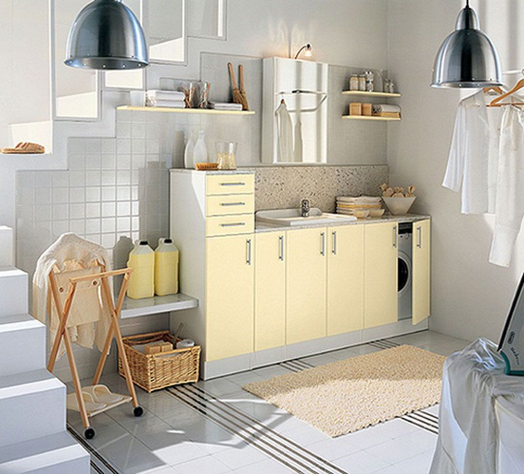 Depiction of Laundry Basket Shelves: Style of Arrangement | Storage ...