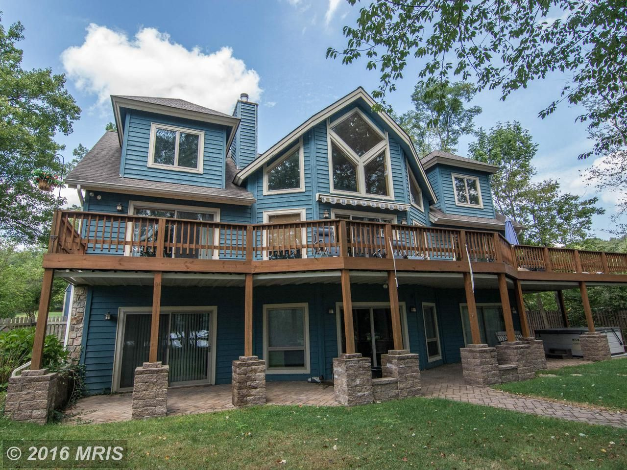 1738 paradise point road oakland md 21550 waterfront