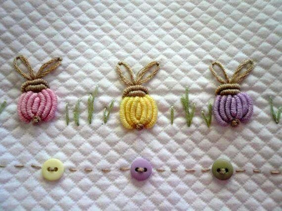 Pattern Would Make Great Edging For Little Girls Dress Stitch