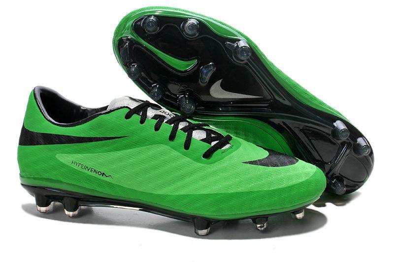 7a4aa2037 Nike HyperVenom Phantom FG Boots Green Black 2014 World Cup ...