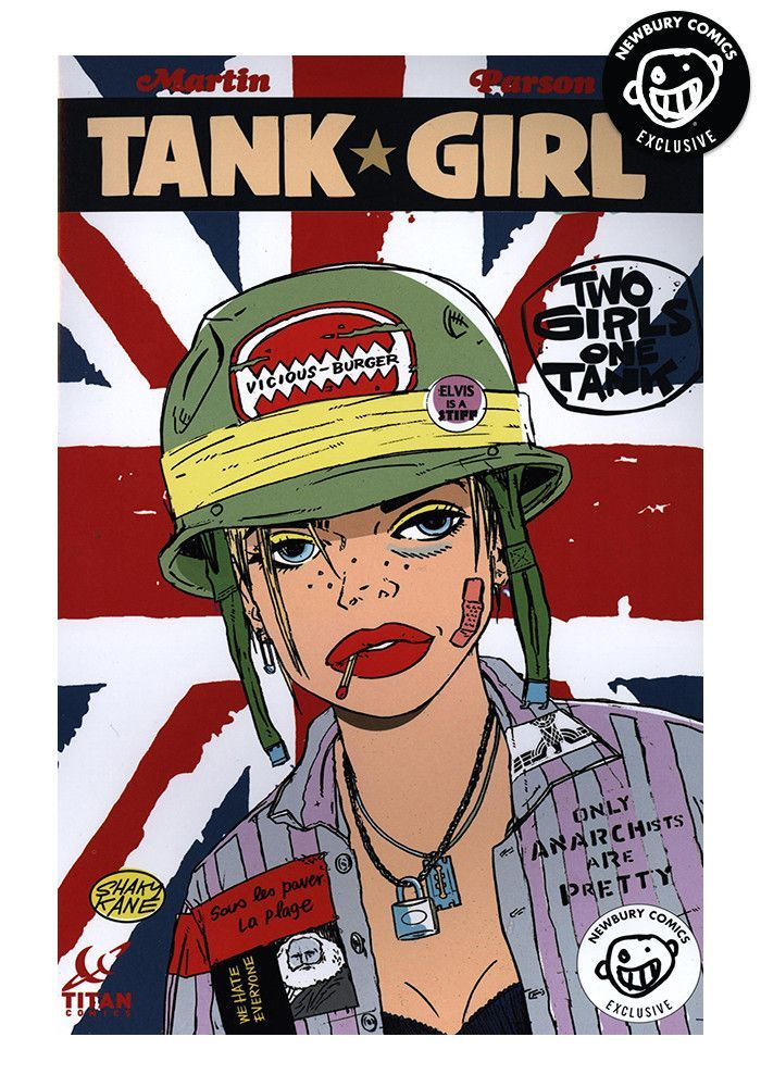 tank girl graphic novelisation