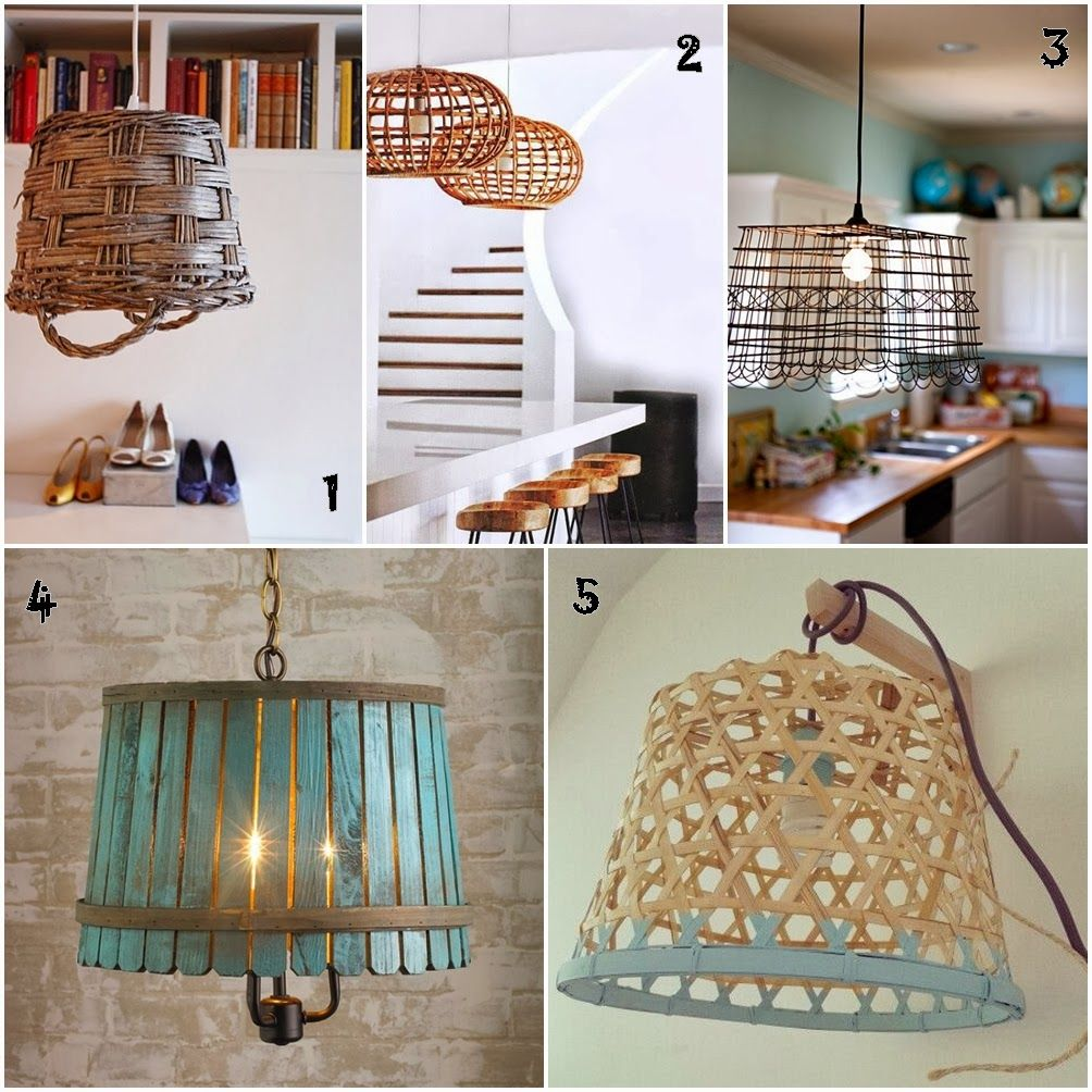 Lamparas Caseras Como Hacer Originales Decoraci N Pinterest
