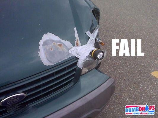 flashlight-headlight | funnies | Car fails, Funny photos, Funny fails