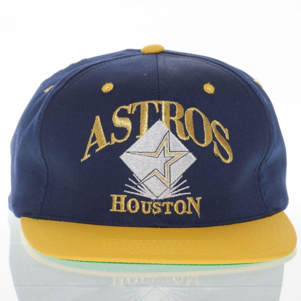 9472d95f3 Houston Astros Signatures Vintage Hat Snapback One Size MLB Baseball ...