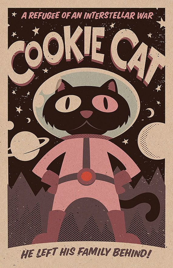 Cookie Cat Print 11x17 Etsy In 2020 Steven Universe Wallpaper Steven Universe Poster Steven Universe Gem