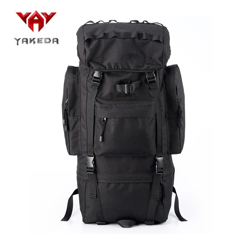fc081c8b468c 65L Nylon Climbing Backpack Watreproof Camping Hiking Outdoor Bag  Waterproof Rucksack Sport bag with Rain Cover  Affiliate