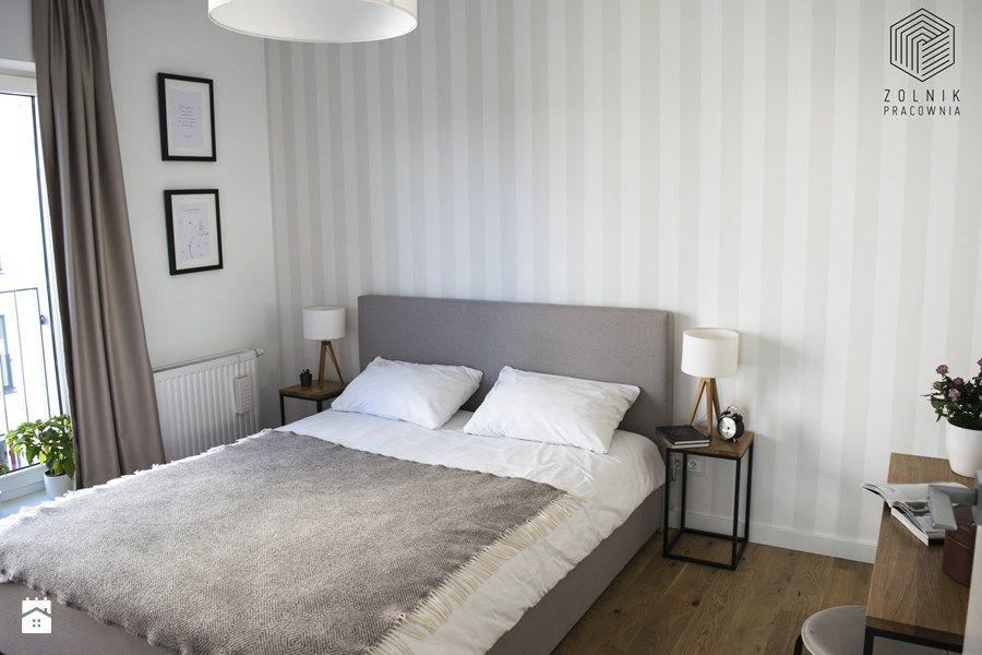 Apartamenty Kurkowa średnia Sypialnia Małżeńska Z Balkonem
