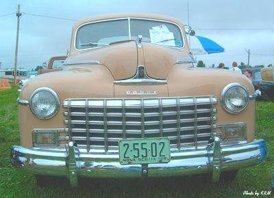 1948 Dodge 2 Door Coup: Hants County Cruisers Car Club Car Shows Windsor Car show 2003