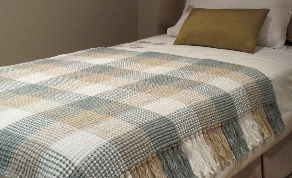 Crochet – Gingham Blanket | Afghans & Blankets | Pinterest | Alter