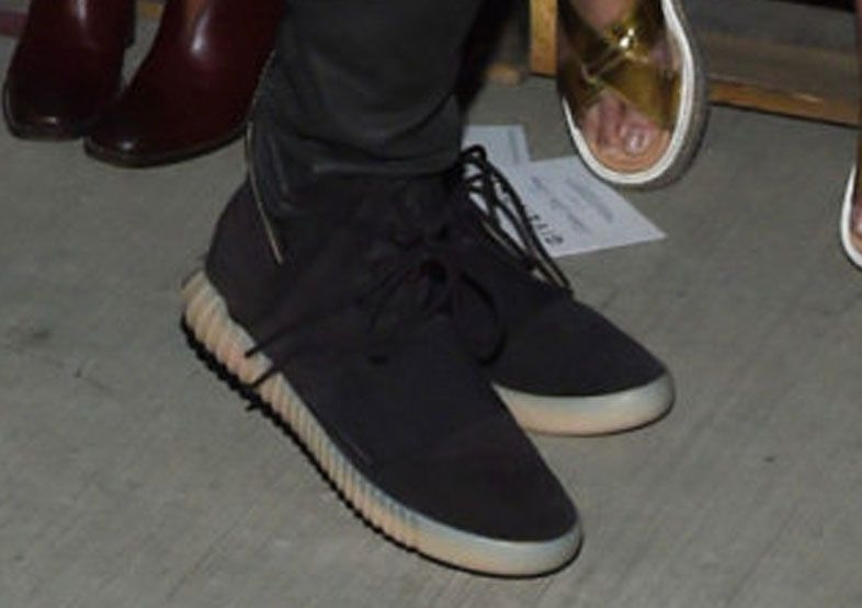 a2d62b80a4e42 Kanye West wearing the adidas Yeezy 750 Boost (6)