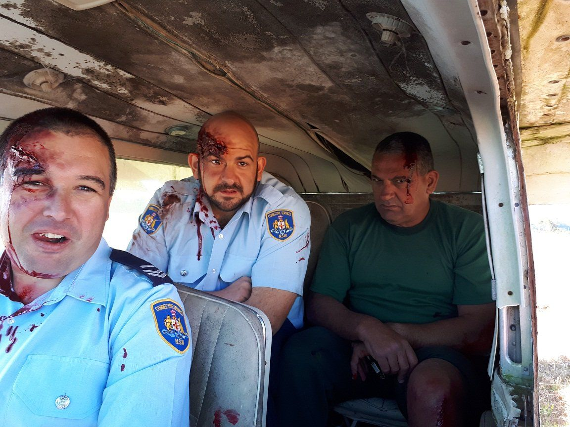 Mid North Coast Prison Officers Put Their Emergency Skills To The