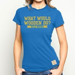 Not a UCLA alum or anything, but John Wooden was the best! Any sports/bball fan would like this shirt.