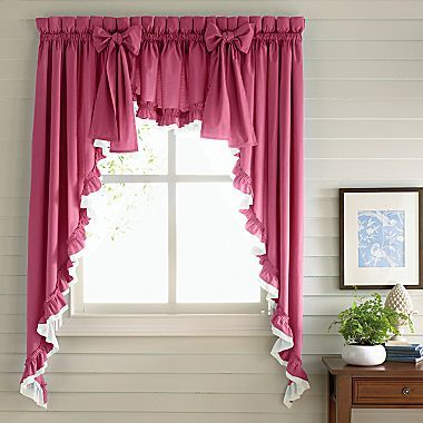 Jcp Home Tanya Cape Cod Rod Pocket Valance Jcpenney