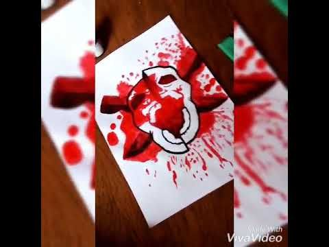 Desenho Headshot Free Fire Youtube Desenho Caveira