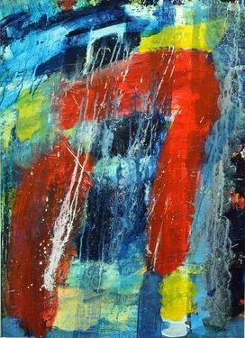 """Saatchi Online Artist Mervin Cole; Painting, """"XVII : Portal"""" #art"""