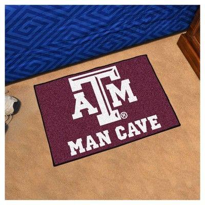 NCAA 19 x 30 in. Man Cave Starter Rug, Texas A&m Aggies