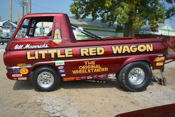 The Little Red Wagon Dodge A 100 Heavily Modified Forward