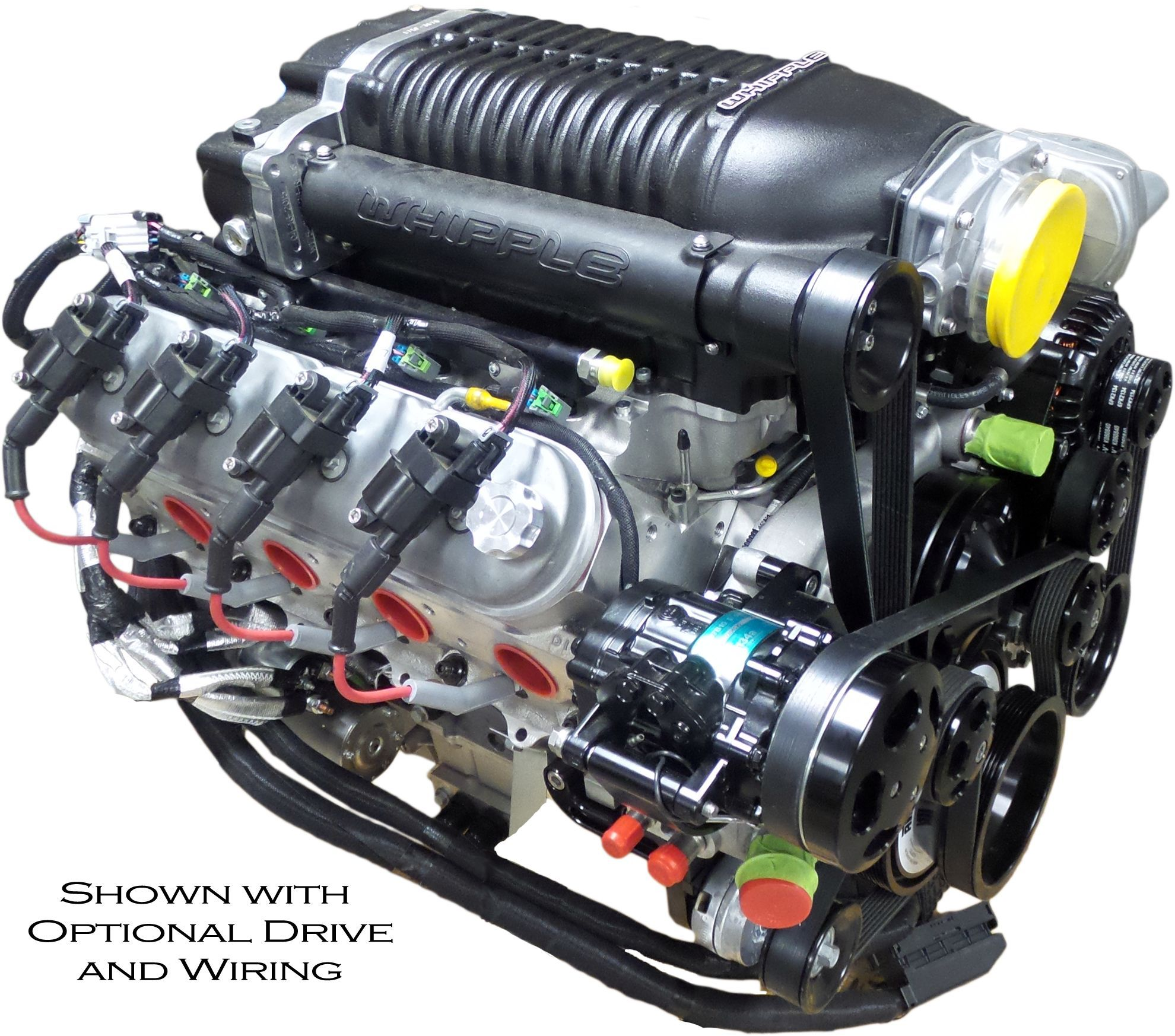 Whipple Supercharger Dodge Ram: Type: LS3 6.8L SC 2.9L Whipple Displacement: 416 Cubic