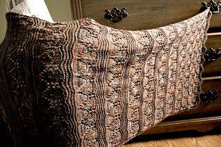 Pyramid Shawl by Amanda Reed knit lace garter rectangle shawl pattern ravelry