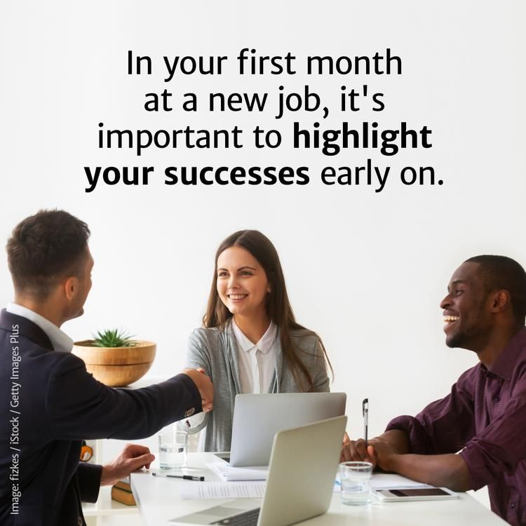 10 things to do your first month at a new job new job