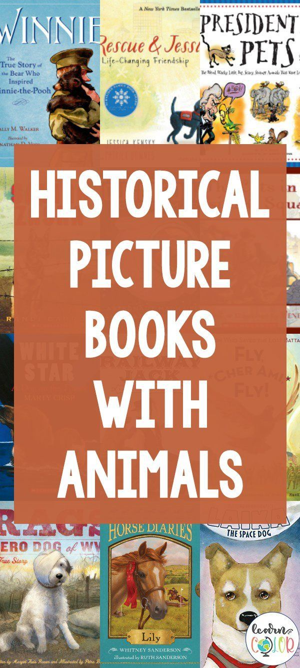 Photo of Historical Picture Books with Animals – Learn in Color