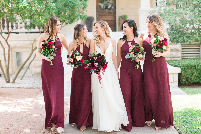 Maroon Color Dress For Bridesmaid 55 Off Plykart Com,Satin V Neck Mermaid Wedding Dress