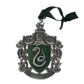 Harry Potter Pen Slytherin Crest with Charm New Official Green