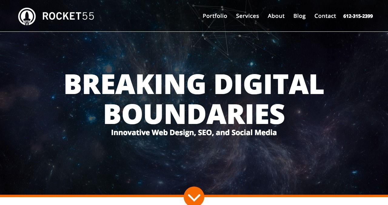 Rocket 55 Is A Digital Agency In Minneapolis It Specializes In Seo Web Design And Digital Marketing Nice Line Digital Digital Marketing Web Design