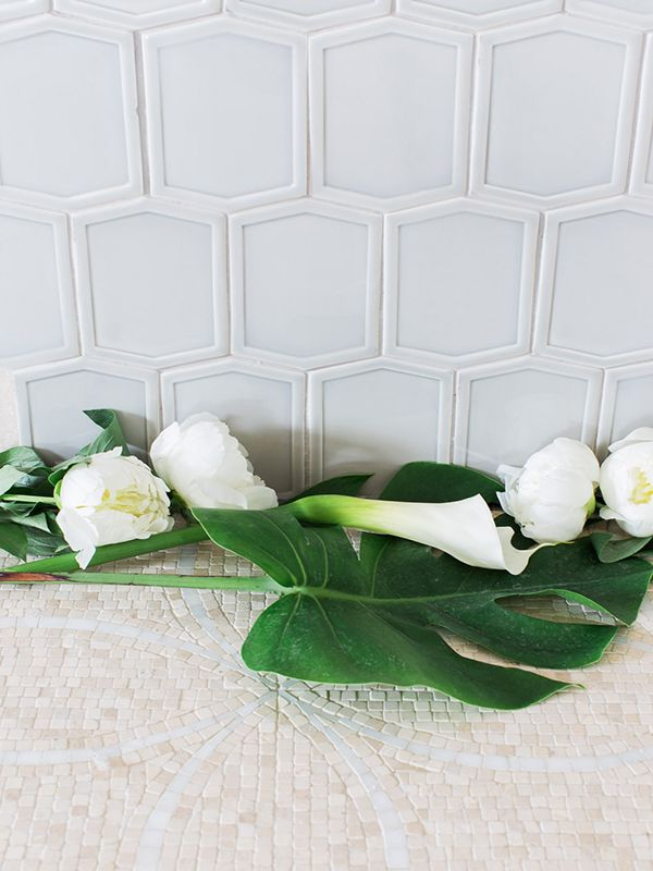 Essentials Mod Pocket Raised Edge Ceramic Tile Photography By