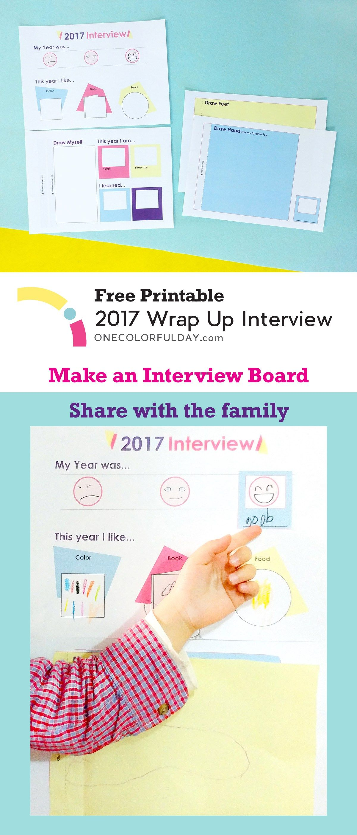 Printable Wrap Up Interview