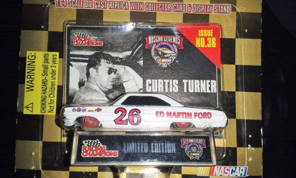 1998 RACING CHAMPIONS NASCAR 50TH ANNIVERSARY LEGENDS