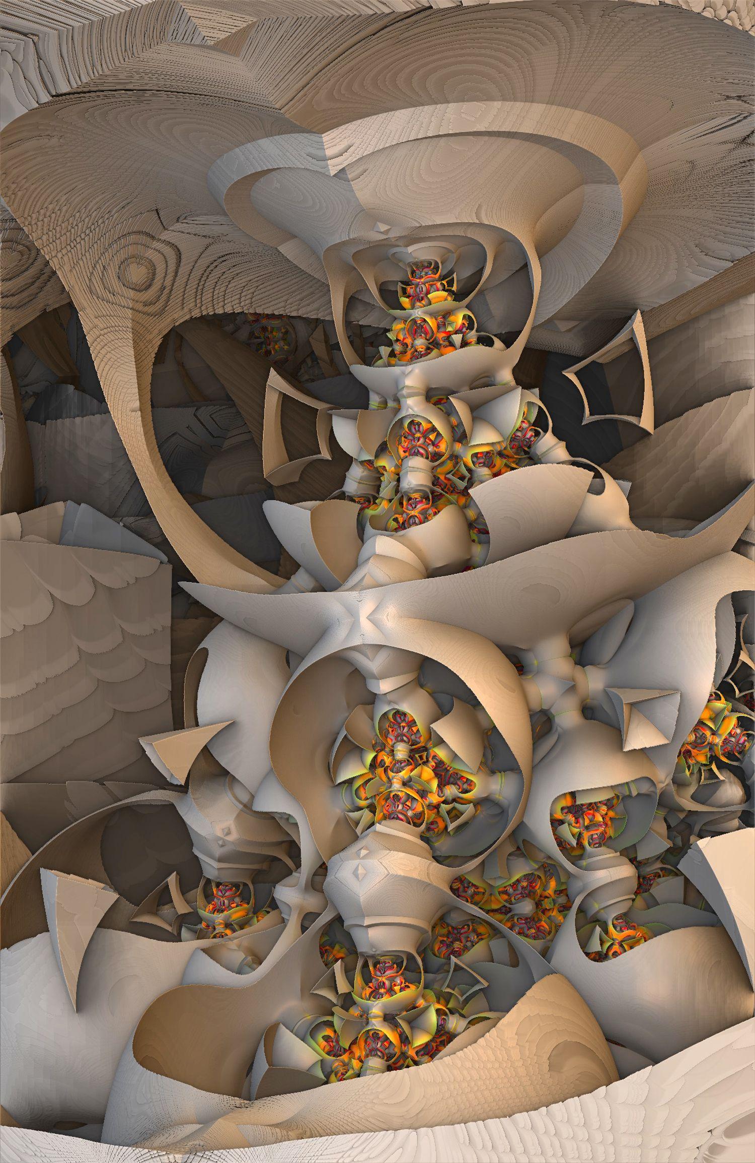 Fractal Art Mandelbulb 3d