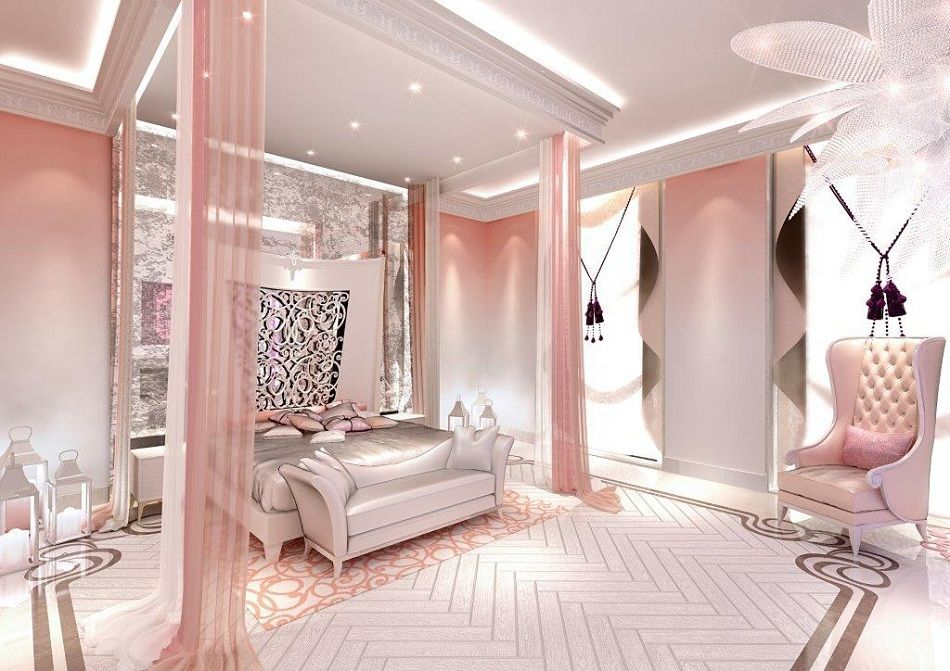 luxury feminine commercial interior design - Google Search ...