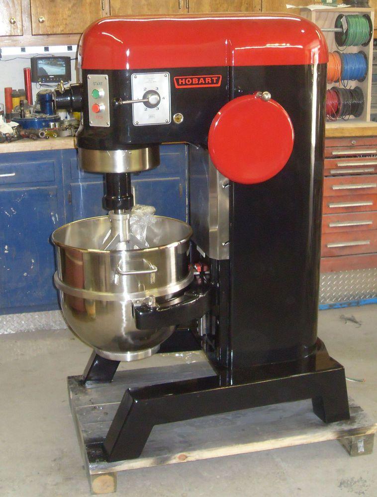Hobart 60 Qt Mixer H600 With Bowl Paddle Dough Hook 220 Volt 3 Phase 11 2hp