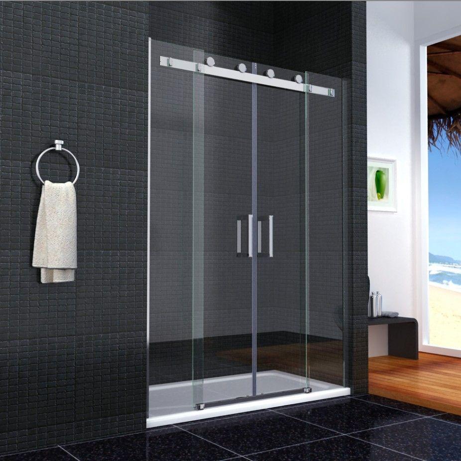 Double Sliding Door Shower Enclosure   http://togethersandia.com ...