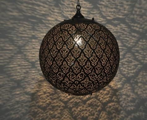 Detailed Moroccan Pendant Light Fixtures