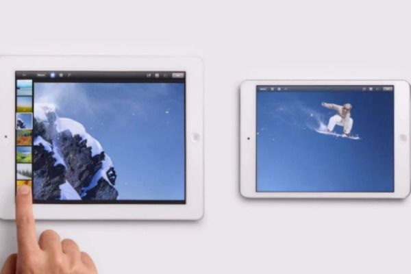 Apple's new iPad Mini ads want you to know that the device is just as good as the full-size iPad.