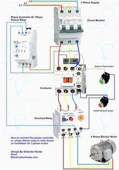 Wiring Diagram For Motor Starter 3 Phase Controller ...