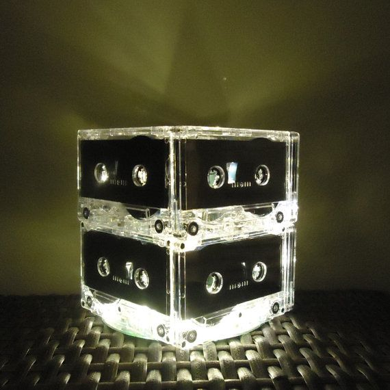 Cassette Tape Night Light Lamp