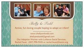 Adoption business card idea adopting our baby pinterest adoption colourmoves