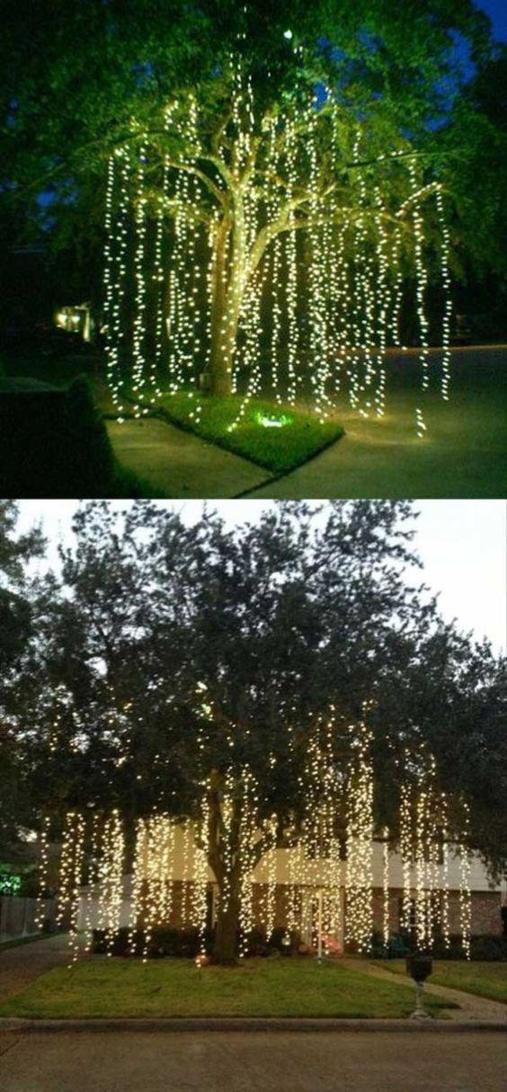 Cheap But Stunning Outdoor Christmas Decorations Ideas 44 Outdoor Christmas Indoor Christmas Outdoor Christmas Lights