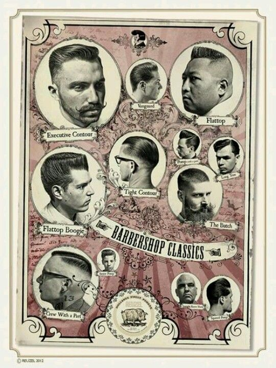 Rockabilly Barber Shop Vintage Barber Barber