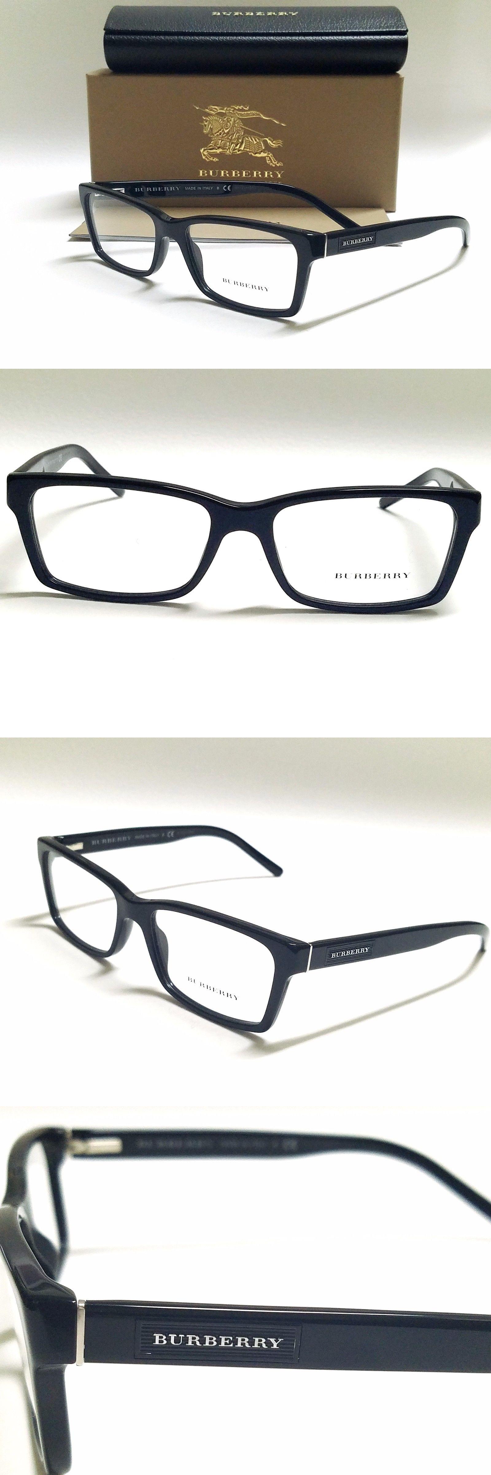 eyeglass frames authentic burberry be2108 3001 black 54 16 140 full rim men s rx - Ebay Eyeglasses Frames