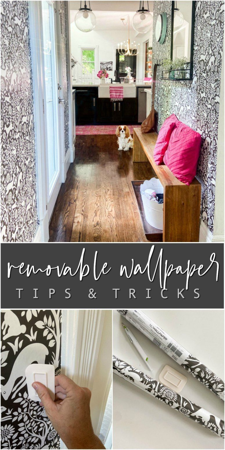Removable Wallpaper Tips And Tricks Tatertots And Jello Removable Wallpaper Best Removable Wallpaper Decor