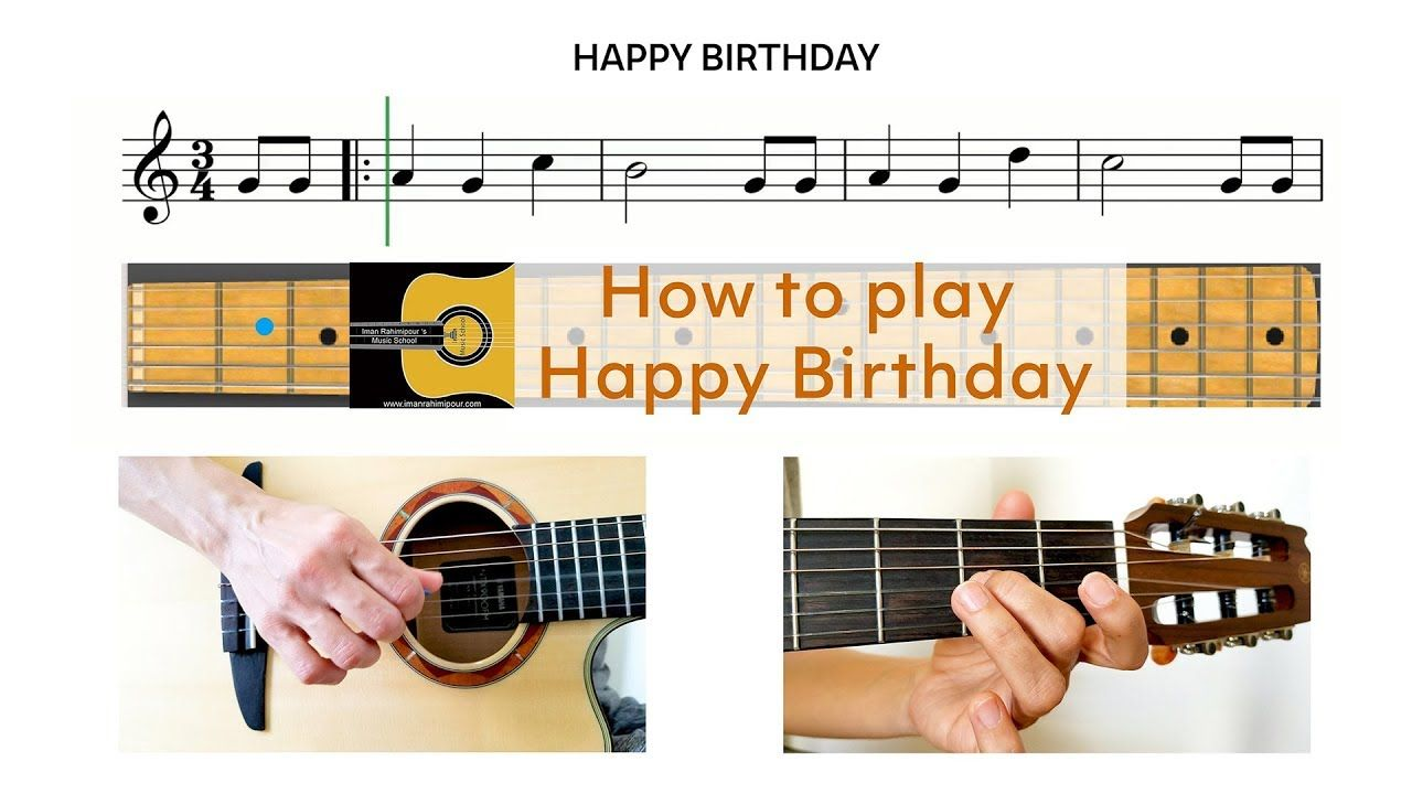 How to play Happy Birthday on Guitar Guitar & Harmonica