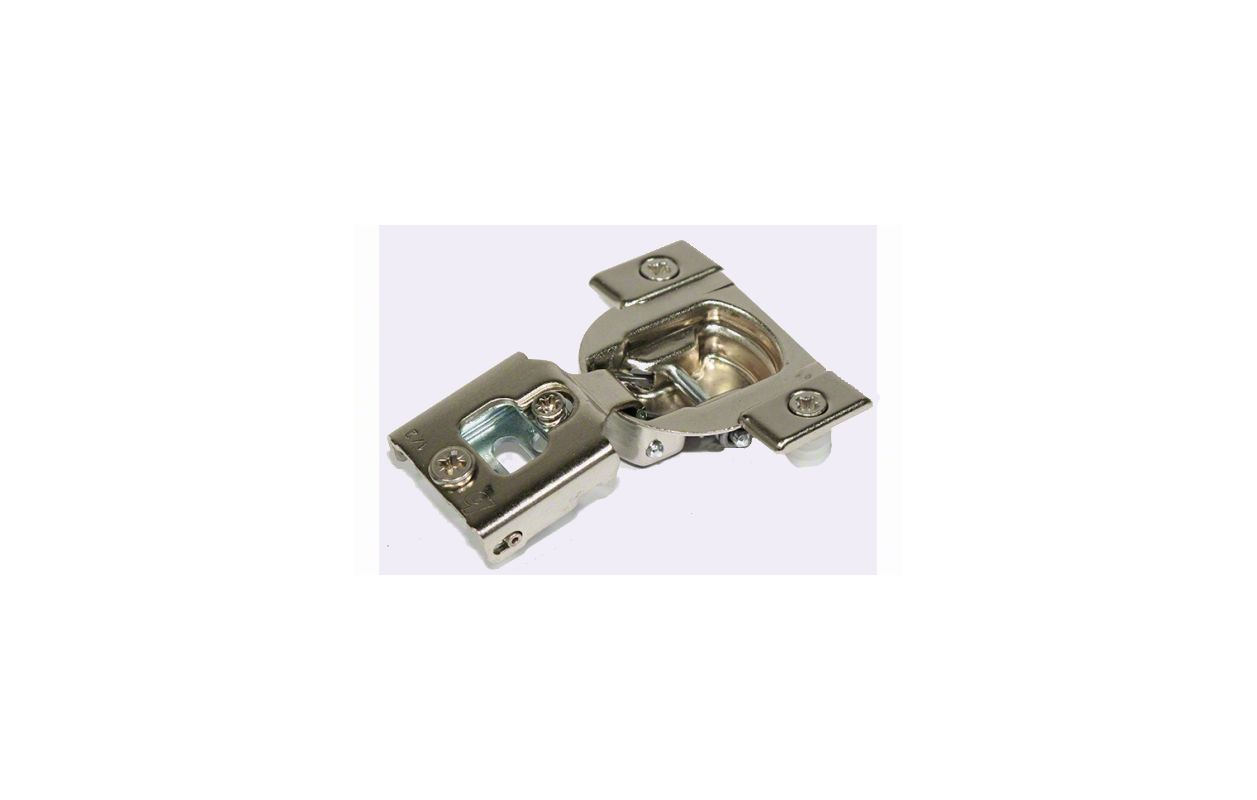 Double Demountable Cabinet Hinges Blum 38n358ce08 Compact 1 2 Overlay Edge Mount Press In Hinge