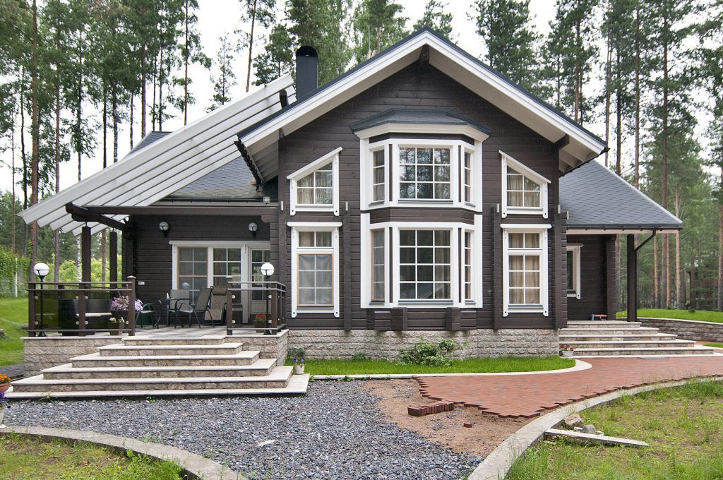 Classic Collection Traditional Scandinavian Style Log Homes For Quality Living Honka Rustic House Plans House In The Woods House Exterior